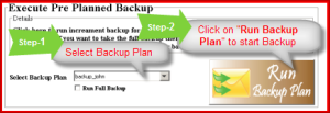 Backup plan to backup emails